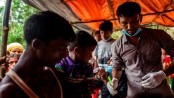Anti-diphtheria vaccination drive launched to save Rohingya kids