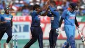 Sri Lanka dismiss India for 112 in 1st ODI