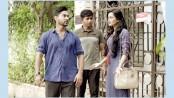 Sajal and Nadia in 'Jhogra Cholchhe'