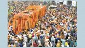 Sikhs celebrate Guru Nanak's birth anniversary