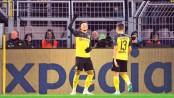 Dortmund reach knockout downing Slavia
