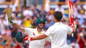 England Ashes hopes fade as Smith and Marsh put attack to sword