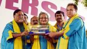 Bangladesh being built with Nazrul's non-communal spirit: Hasina