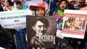 Crushed hopes greet Suu Kyi in Australia