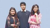 Tawsif and Sabila with Mehazabien in 'Better Half'