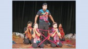 100th show of anti-war play 'Tringsha Shatabdee' at BSA today