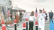 US warship docks in Lebanon amid tensions
