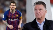 Van Gaal blames Messi for Barcelona's Champions League failures