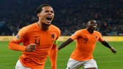 Van Dijk late strike fires Dutch into Nations League semis