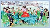 Bangladesh storm into second round