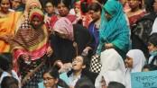 Viqarunnisa students observe hunger strike demanding teacher's release