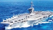 Virus cases spike on US aircraft carrier in Pacific Ocean