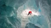 'Warm Antarctic caves harbour secret life'