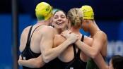 Australia smash world record to win women's 4x100m relay Olympic gold