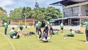 Tigers begin practice in Sri Lanka after mandatory quarantine period