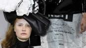 Fashion tries to prove women can look good in bin bags