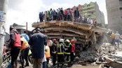 6-story building collapses in Nairobi; people feared trapped