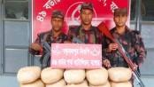 42kg hemp, 264 bottles Phensidyl seized from Jashore border