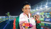 Mahfuza wins 2nd gold, sets record