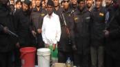 Man held with firearms, bombs in Manikganj