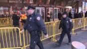 New York explosion at Manhattan bus terminal
