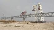 2.5 km of Padma Bridge visible as 16th span installed