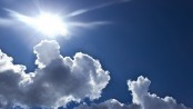 Met office predicts partly cloudy sky