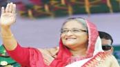 Sheikh Hasina reaches Suhrawardy Udyan