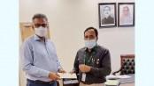 PM donates Tk 3cr for Durga Puja