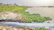 Savar tannery wastes now polluting Dhaleshwari river