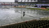 2nd day of play abandoned for rain