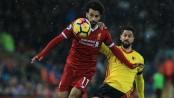 Salah's four-goal blitz fires Liverpool