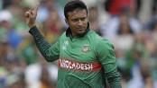 With bat or ball, Shakib Al Hasan takes flight