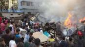 Chattogram slum fire destroys 150 shanties