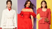 Fiery shades of red and orange a 'lucky charm' for Sonam Kapoor
