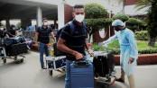 Sri Lanka team arrives Dhaka to play 3-match ODI Series against Tigers