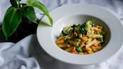 Tricolor pasta recipe