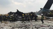 50 killed in US-Bangla plane crash in Kathmandu