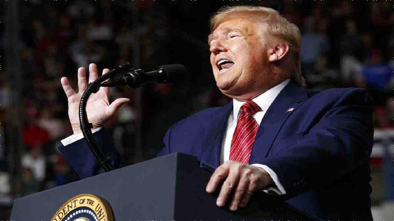 Trump accuses Democrats of 'hoax' for criticizing coronavirus plan