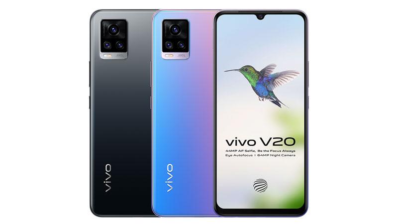 Sale of Vivo V20 starts