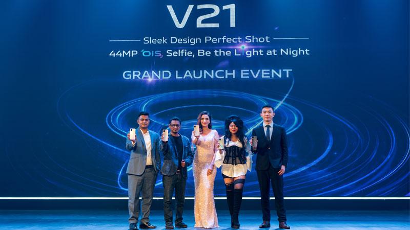 vivo V21 launched in Bangladesh
