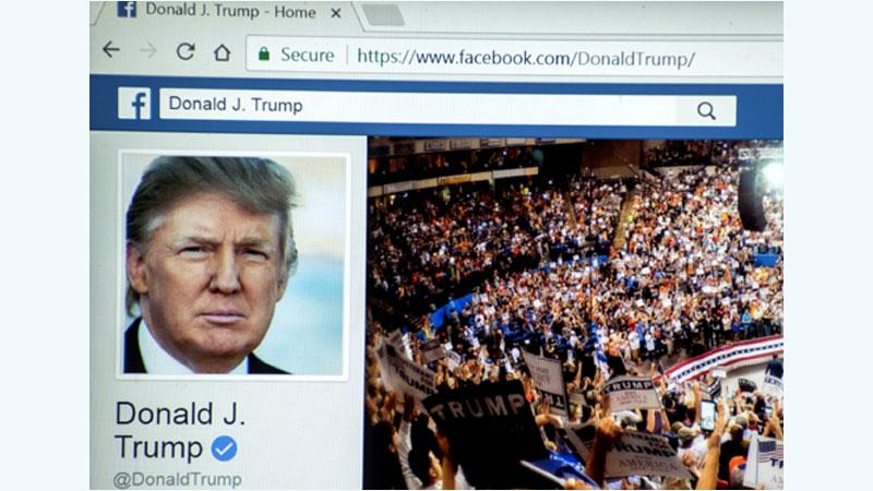 Facebook bans Trump 'indefinitely' for inciting violence