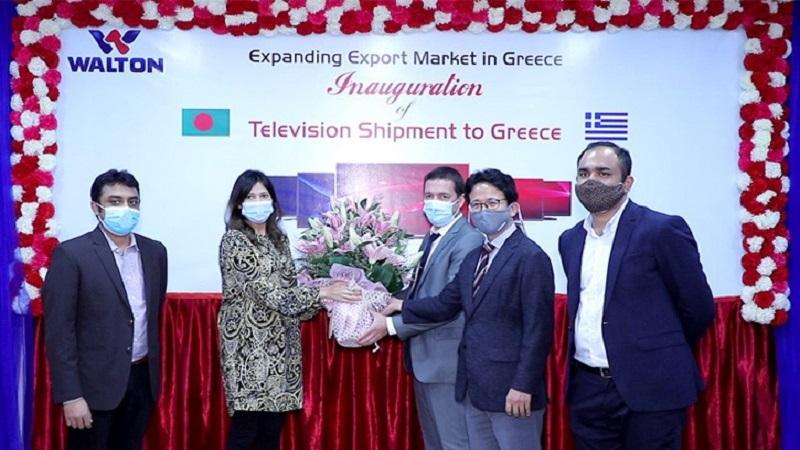 Walton starts LED TV sets exporting to Greece